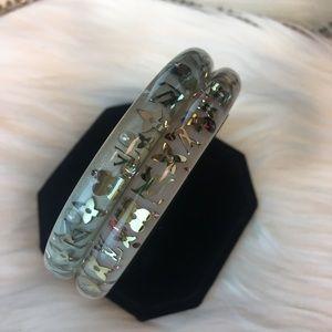 Louis Vuitton Authentic Bangle Bracelet Resin